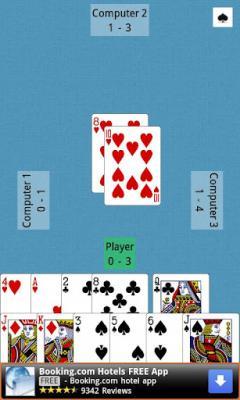 بازی ورق پوکر پاسور حکم کارتی برای اندرویددانلود بازی کارتی اندرویدSpades for Android