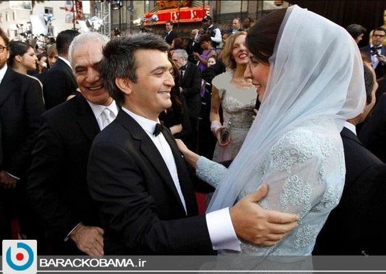 لیلا حاتمی در آغوش یک فرانسوی + عکس