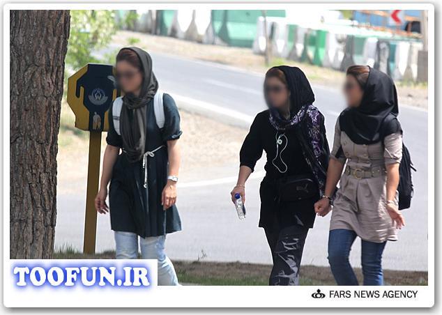 عاقبت شهوترانی و بدحجابی + عکس